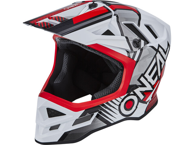 O'Neal Blade Polyacrylite Kask Delta, white/red